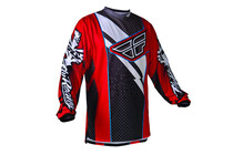 Fly Racing F16 jersey Homme rouge/noir
